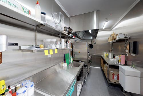 Stainless Steel kitchen benches Melbourne