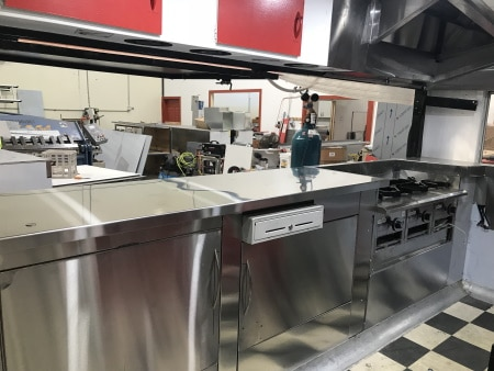 Food Truck Exhaust Canopy Installation