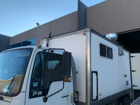 Exhaust Canopy for Food Trucks
